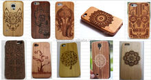 Wood Wallet Flip Cover Cases For Iphone 6,wooden phon case,Wood Leather Mobile Phone Case For Iphone 6