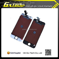 OEM Mobile Phone LCD for iPhone5, LCD Touch Screen for iPhone 5 Spare Parts