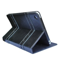 Guangzhou Supplier 7 inch Tablet Black PU Leather Case For The New pad