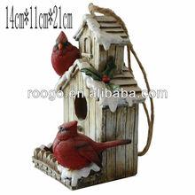 Resin bird houses