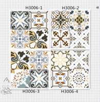 300x300 mm diffferent kinds of factory price art ceramic tiles