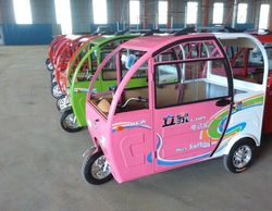 electric tricycle for passenger transport