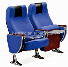 high quality affordable retractable cinema theater seatings with cupholders WH810
