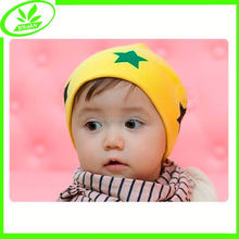 Cute soft knitted in stock beanie cotton baby cap