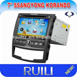 in dash car dvd player with 7 inch touch screen