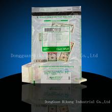 Security Handle Plastic bag Tamper Evident