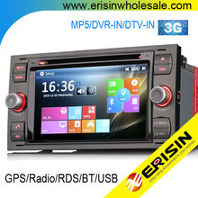 Erisin ES7066F 2 Din 7 Inch Car DVD with GPS for Mondeo 2006