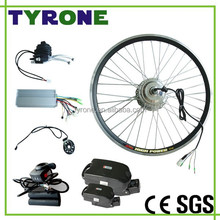 electric bike battery kit wheel part brushless hub motor with LCD display