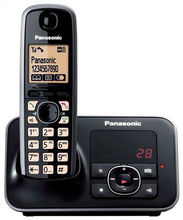 DECT telephone with 170h standby time Panasonic KX-TG 6621 - Black color