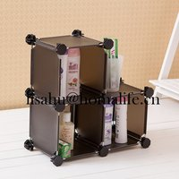 Cosmetic storage box make out of plastic with drawer