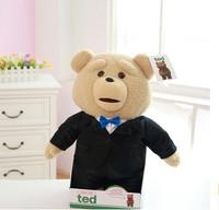 Talking ted custom moving plush toys teddy bear