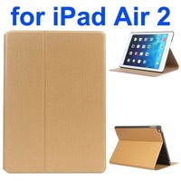 Basketball Texture Flip Leather and PC Case for iPad Air 2 with Holder