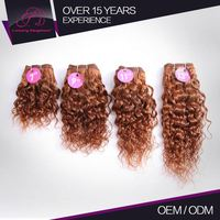 Natural And Beautiful Affordable Price Real Virgin 100% Human Remy Hair Blonde