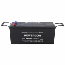 Best factory price for N120MF 12v 120ah maintenance free car battery