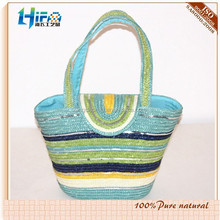 Manufacturer supply female fashion straw bag