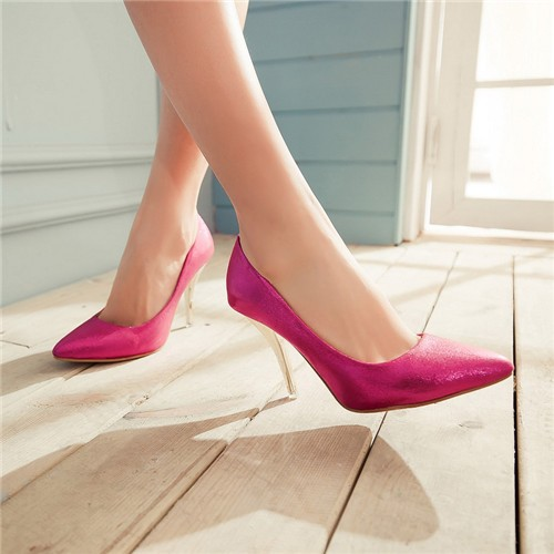 Wholesale High Heels Pointed Toe High Heels Basic Party Stiletto ...