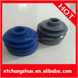 hot sell custom molded NBR /EPDM /FKM auto parts car trailer covers silicone dust cover