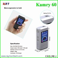 In stock variable voltage variable wattage mod original KAMRY 60w box mod