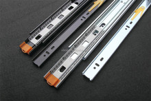Furniture Hardware Accessories Silent Mounting Telescopic Slides