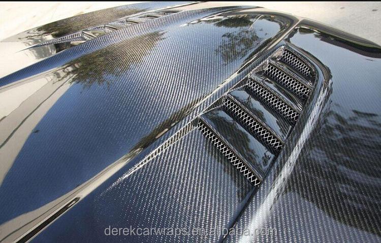 Derek Hydrographic Pvc Film 5d Carbon Fiber Vinyl With