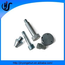Precision custom made CNC machine parts, steel anodized CNC turning parts from China manufacturing