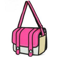 2013 nueva moda estilo de dibujos animados en 3d bolsas de bolsas de guangzhou fábrica/maunfaturer