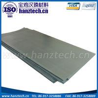 Supplier Baoji Hanz ta10 titanium sheet