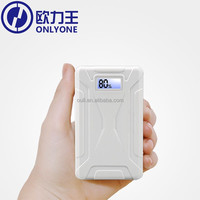 Universal 13000mAh 2 dual usb power bank external battery for mobile phone