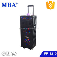 Selected products from gold suppliers outdoor rechargeable portable speaker with Wheels