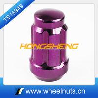 purple spline drive socket extended lug nuts