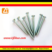 hot sell countersunk head stainless steel chipboard screws
