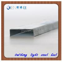 Lightweight steel frame / Galvanized steel channel