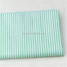 CVC 60/40 45*45 133*72 woven stripe printed fabric