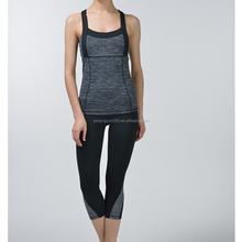 Lady of yoga clothing vest sportswear slim T word vest dance clothing containing bra
