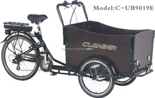 6 speeds electric cargobike/cargo bike for monther and baby/tricycle/trishaw