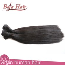 Wholesale In Alibaba Natural Black Silky Straight New Wave Hair Product