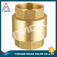 pvc ball check valve high pressure full port and forged blasting nickel-plating CE approved NPT threaded connection in TMOK