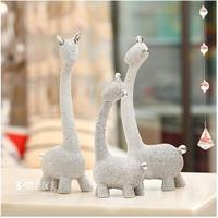 Silver abrazing decorative reindeer home decor reindeer for home deco
