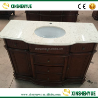 Cut to Size Hotel Decoration Wholesale Bathroom Vanities