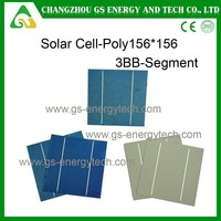 higher quality 17.8% eff 4.33w156 poly with lowest price made in China solar cells 6x6