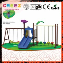 Newest design Arab kids swing play set with slide used for children outdoor