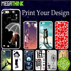 for iPhone 5c Case DIY Personalized Custom Logo Picture Printing Mobile Phone Soft TPU Cover for iPhone 5c