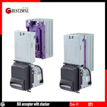 Bill acceptor or note reader or bill validator with bill stacker for 300pcs or 600pcs