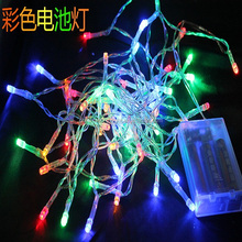 battery operated holiday time christmas outdoor led string lights