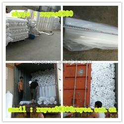 100% polyester mesh fabric 50D 3x400m for covering play ground, tela de malla de poliester, tela mosquitera