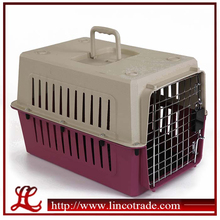 Portable Plastic Pet Cages With Lock