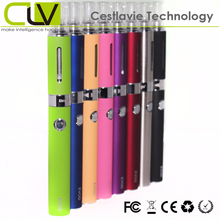 7 colors available changeable coil head clearomizer e cigarette hong kong