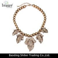 Selling Well Best Quality stretch crystal bead necklace