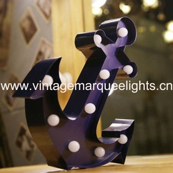 direct manufacturer of carnival anchor shape lamps