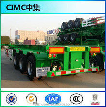 CIMC Container Chassis, 40FT Skeleton Semi Trailer